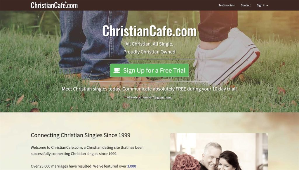 christiancafe homepage