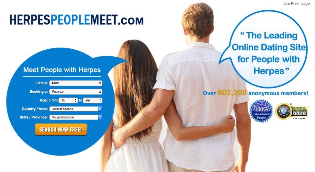 HerpesPeopleMeet -Homepage