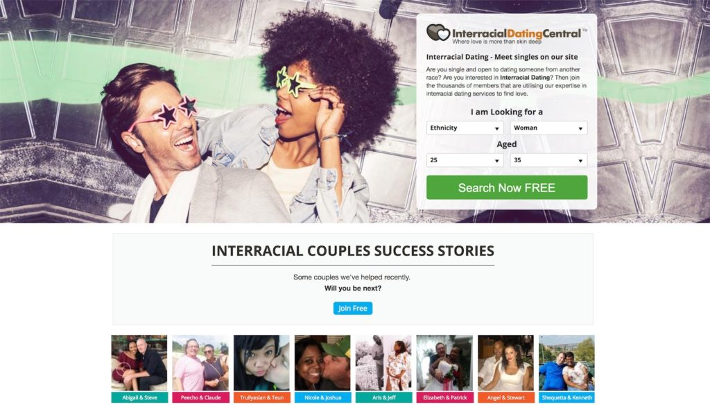 InterracialDatingCentral Homepage