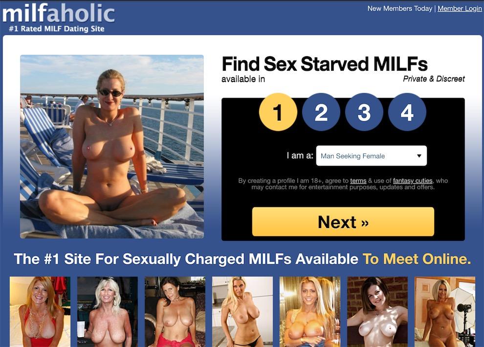milfaholic homepage